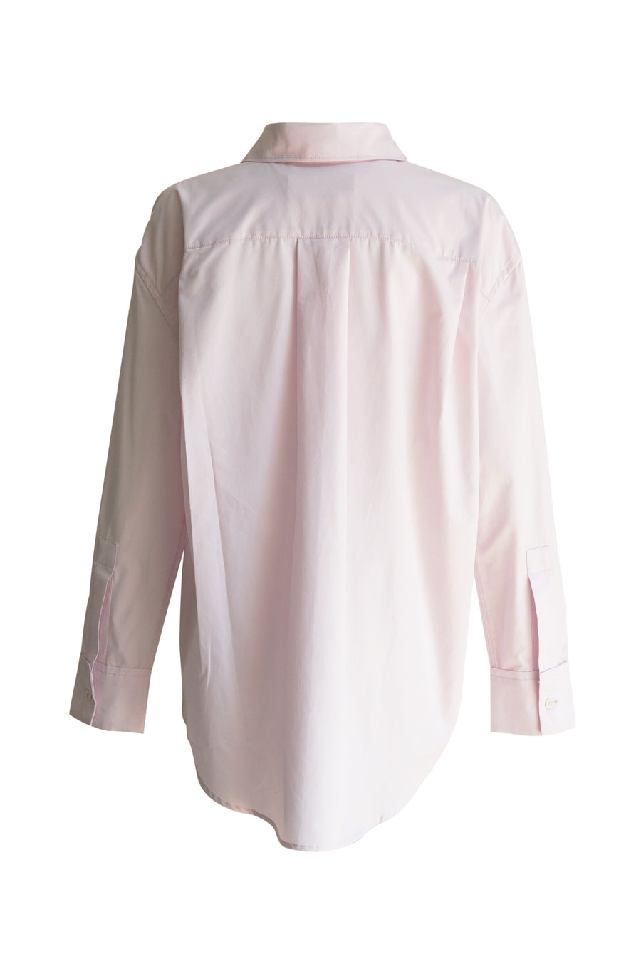 Pink Cotton Poplin Shirt