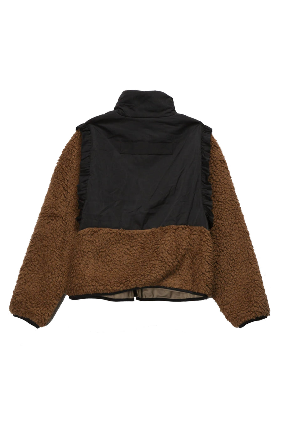 Mia Fleece in Teddy Brown