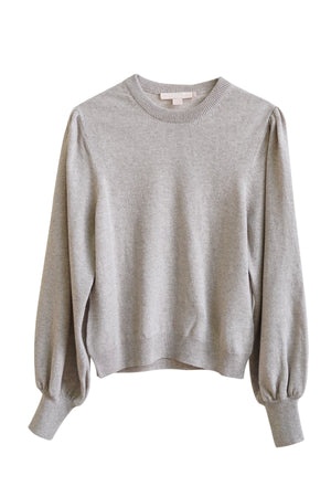 Crewneck Sweater in Beige