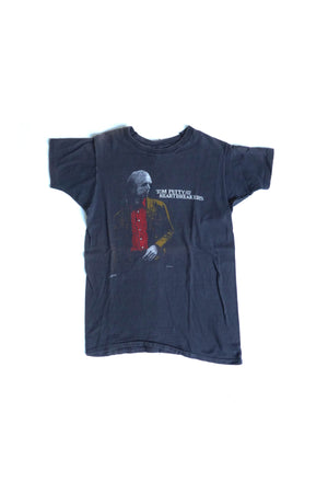 Black Tom Petty Tour Vintage Tee