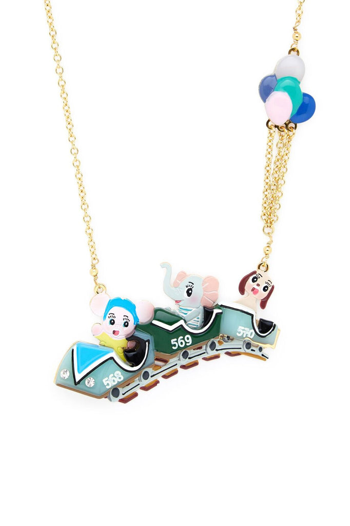 3-Amigos Rollercoaster Friends Necklace