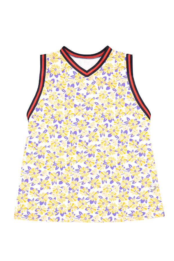 EAST HAMPTON GARDEN Sleeveless Polo | xs