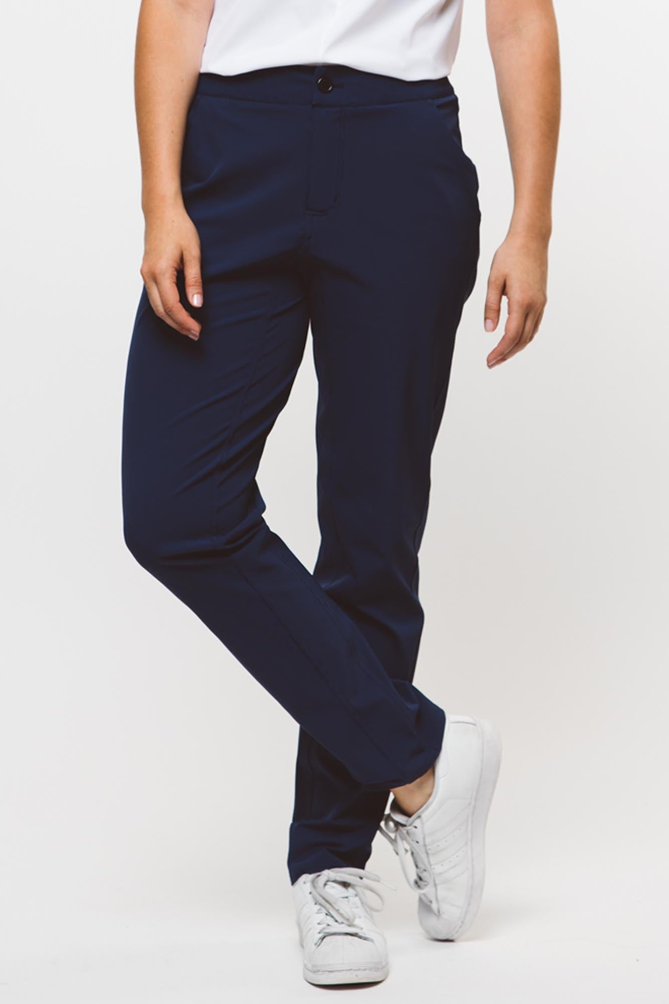 Core 2.0 Slim Straight Long Pant | navy   4