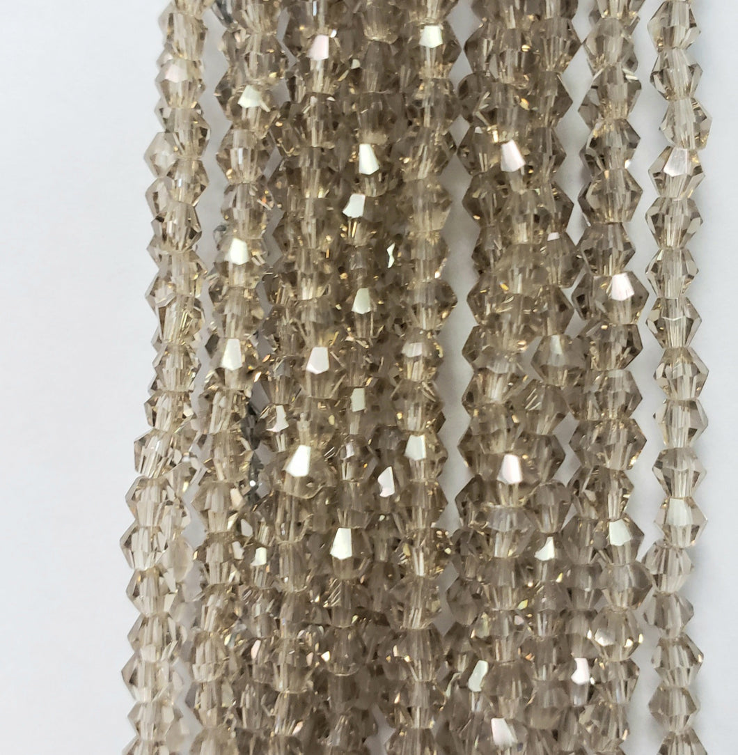 3MM BICONE CRYSTAL STRAND 18.5