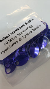 Aluminum Scales 30pcs Micro Purple