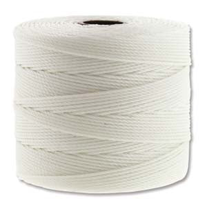 Fine Nylon Knotting Cord - Pearl 118yards