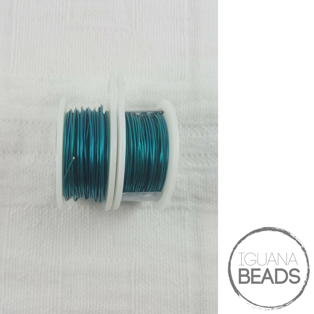 PEACOCK BLUE Wire - Wire Wrapping Wire - Non-Tarnish - Parawire -Choose Gauge