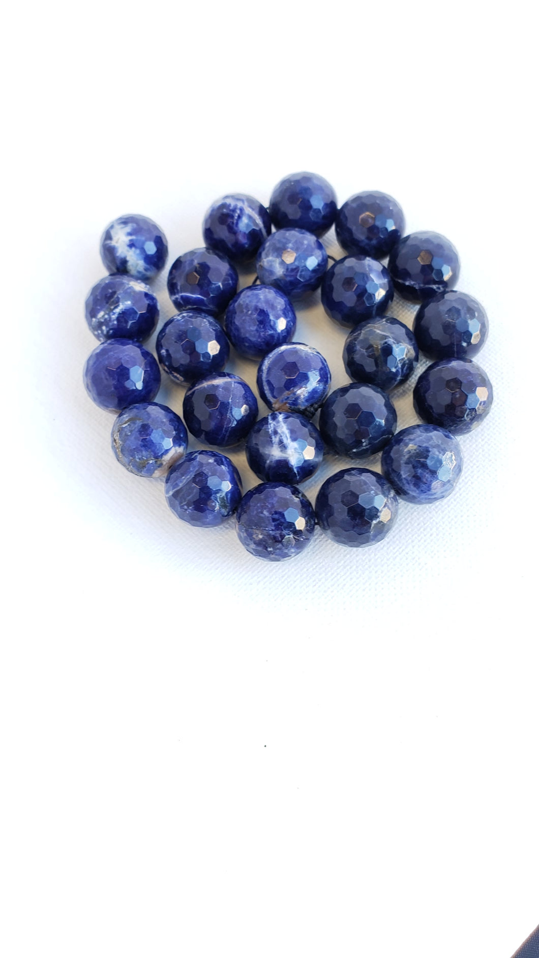 16mm Faceted Sodalite