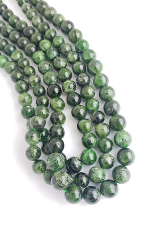 8mm Diopside Bead Strand 16