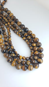 "8MM TIGER EYE FACETED 16"" STRAND"