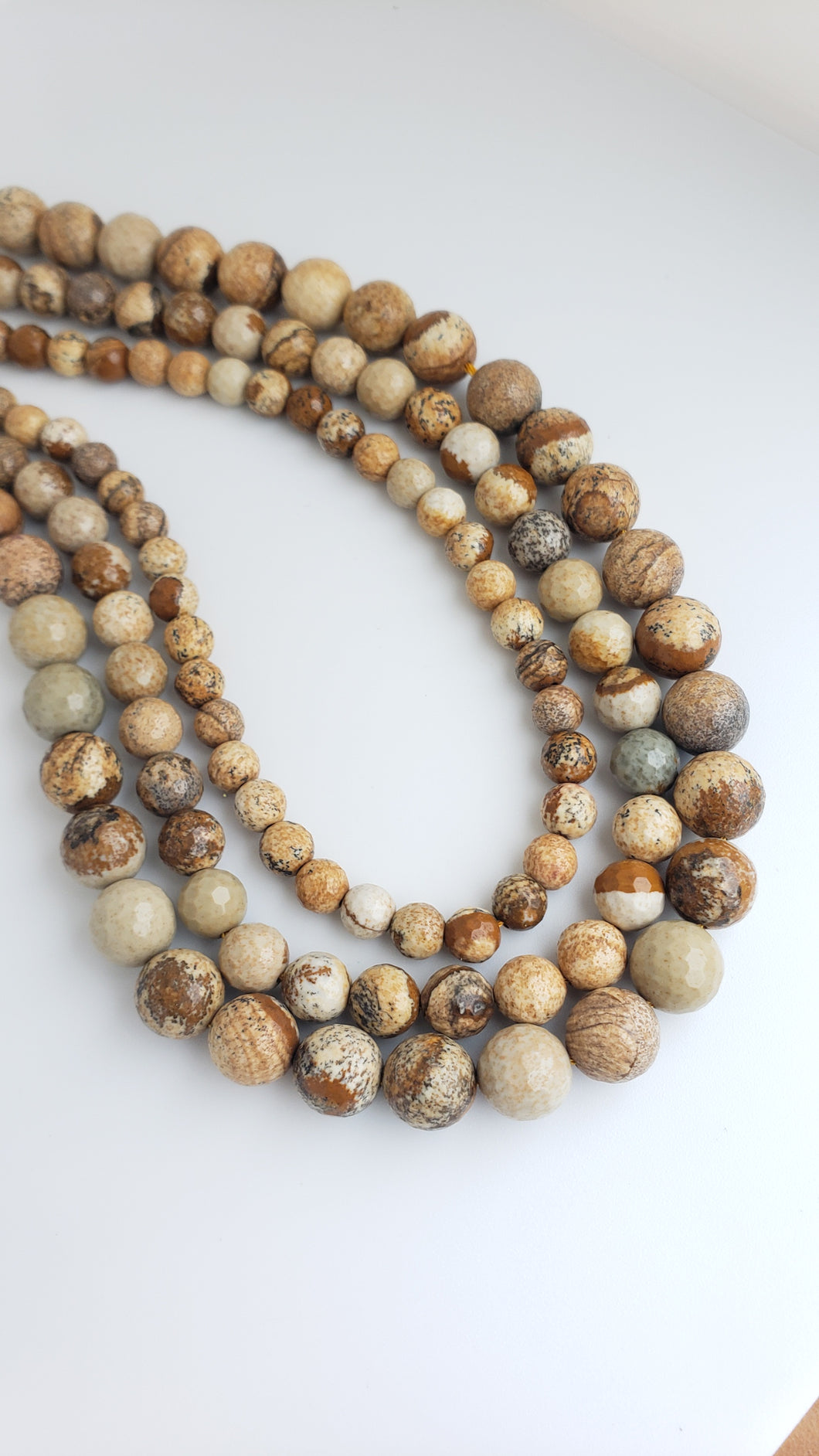 6MM PICTURE JASPER FACETED 16