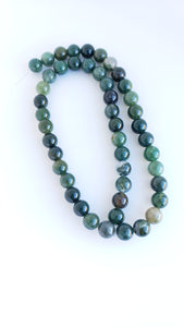 "6mm Moss Agate 16"" Strand"