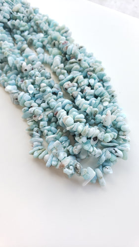 Small Larimar Chips 15