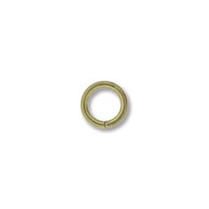 Jump Rings 6mm ID 16G Antique Brass 25pcs