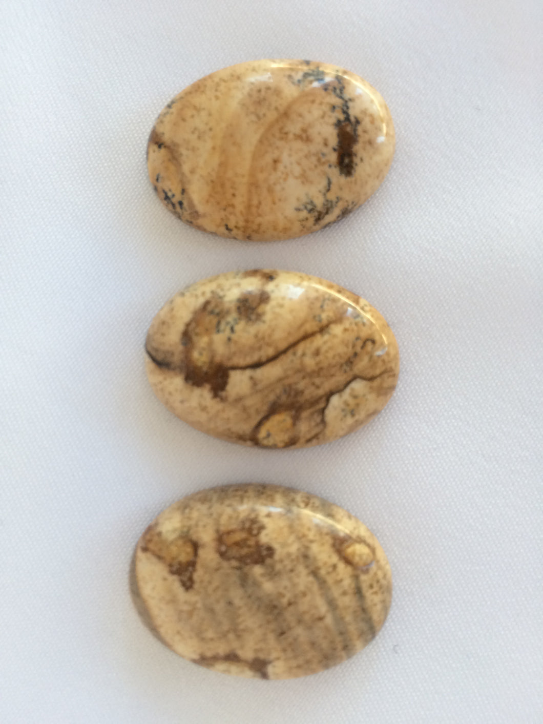 Cabochon Picture Jasper 13x18mm