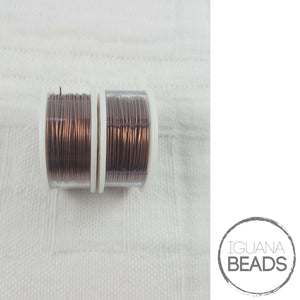 Antique Copper Wire - Wire Wrapping Wire - Copper Core - Non-Tarnish - Parawire -Choose Gauge