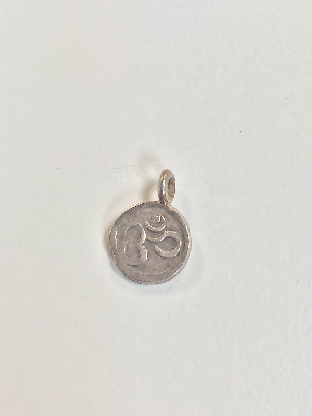 Sterling Silver Charm, Ohm