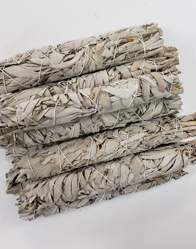 White Sage Sticks for Smudging 8.5