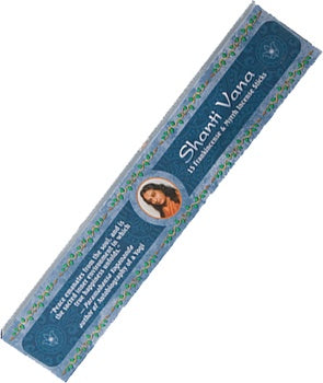 Incense Sticks Shanti Vana : Frankincense and Myrrh 15 Stick Pack