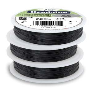 Beadalon Wire Black 30feet