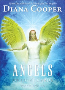 Angels of Light Card Deck POCKET EDITION  By Diana Cooper