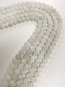 "Rainbow Moonstone 6mm Round 15.5"" Strand Approx"