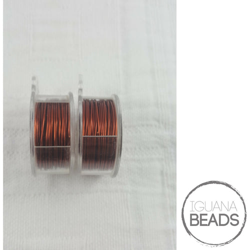 BROWN Wire - Wire Wrapping Wire - Copper Core - Non-Tarnish - Parawire -Choose Gauge