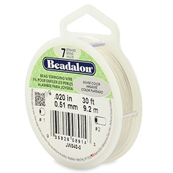 Beadalon Wire Silver .51mm 9.2m