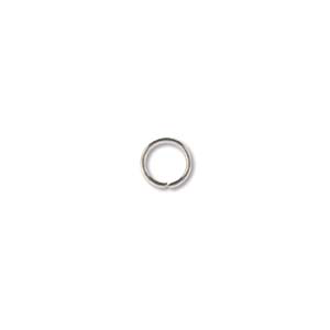 Rings Soldered 4mm ID Stainless Steel 25pcs