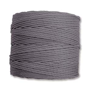 Medium Nylon Knotting Cord Steel Grey