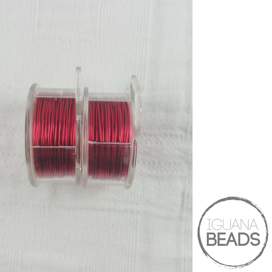 MAGENTA Wire - Wire Wrapping Wire - Non-Tarnish - Parawire -Choose Gauge