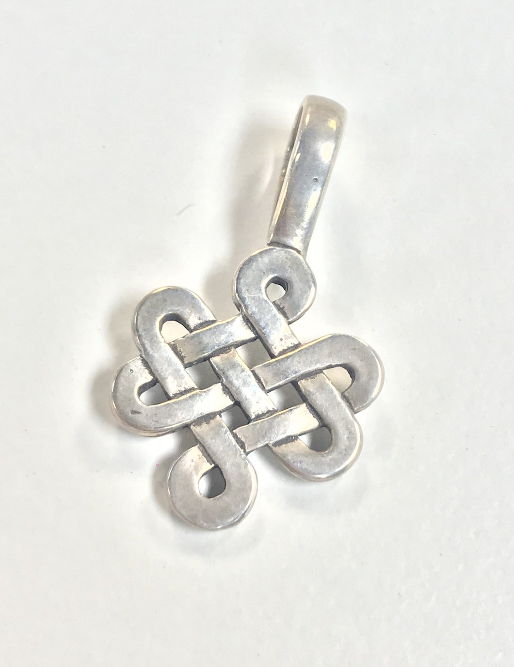 Sterling Silver Pendant, Celtic Knot