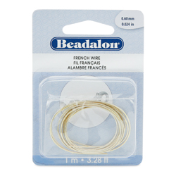 French Wire Gold Plated 0.60mm (0.024