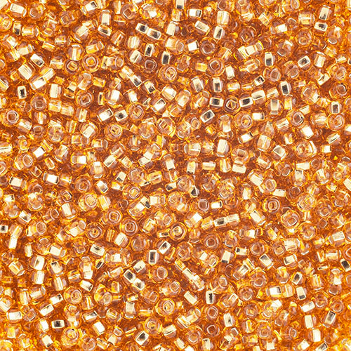 Seed Beads 10/0 S/L Gold