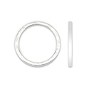 Quick Links Soldered Rings Silver Plated 18pcs 25mmD