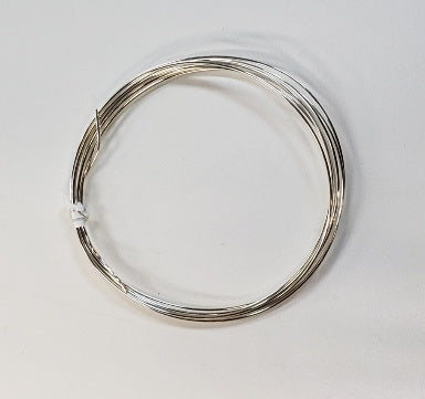 Sterling Silver Wire : Round : Half Hard : 24 Gauge