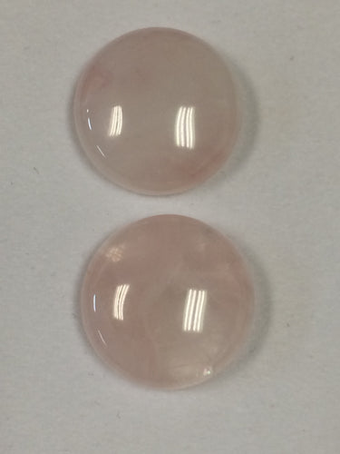 Cabochon Rose Quartz 20mm