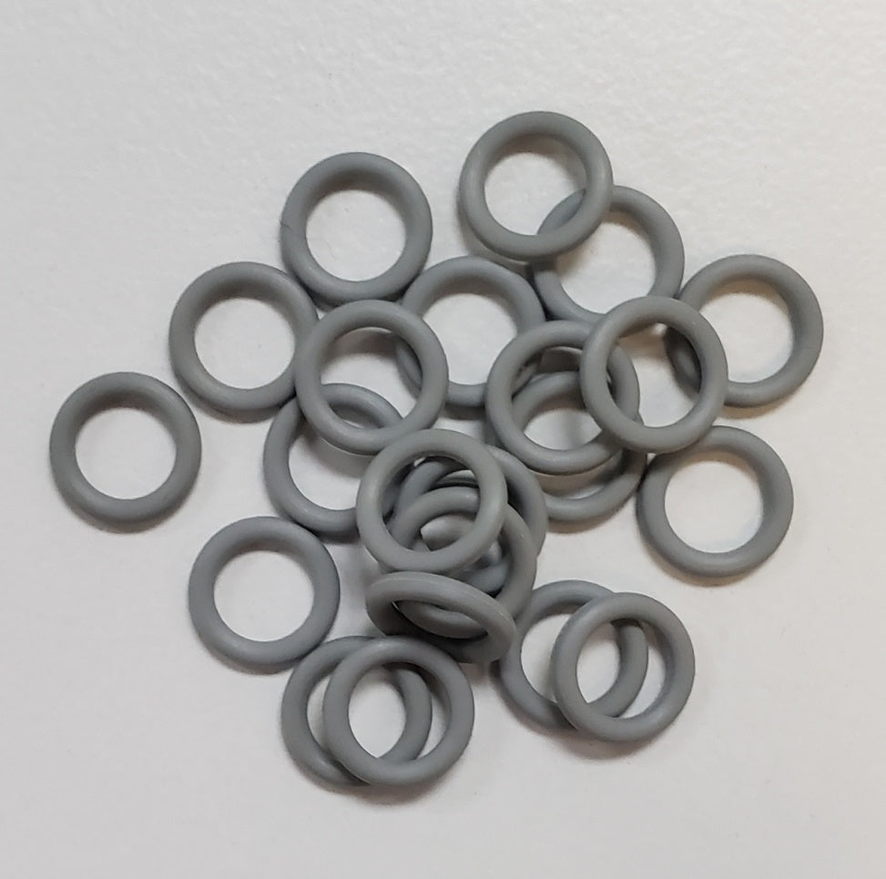Rubber Rings Grey 18swg 3/16