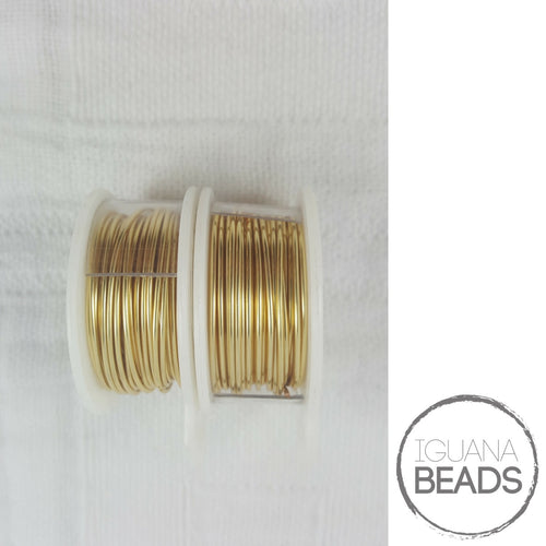 GOLD Wire - Wire Wrapping Wire - Non-Tarnish - Parawire -Choose Gauge