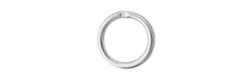 Sterling Jump Ring 4mm OD 20g