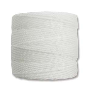 Medium Nylon Knotting Cord White 77 yard