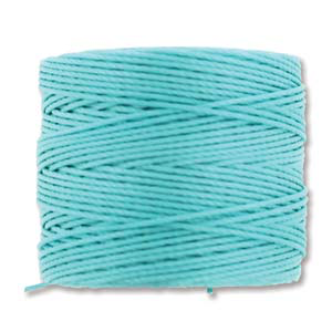 Medium Knotting Cord Amazonite 77 yards