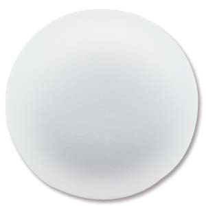 Lunasoft 24mm Round Cabochon Pearl White 1pc