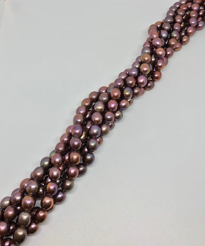 Oval Iris Freshwater Pearls