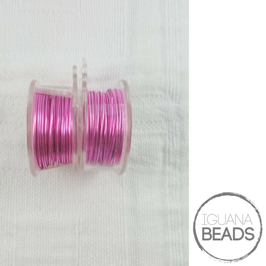 Hot Pink Wire - Wire Wrapping Wire - Non-Tarnish - Parawire -Choose Gauge