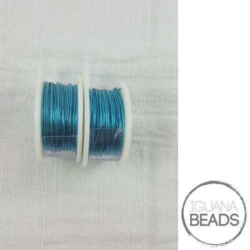 PACIFIC BLUE Wire - Wire Wrapping Wire - Non-Tarnish - Parawire -Choose Gauge