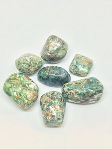 Tumbled Green Kyanite
