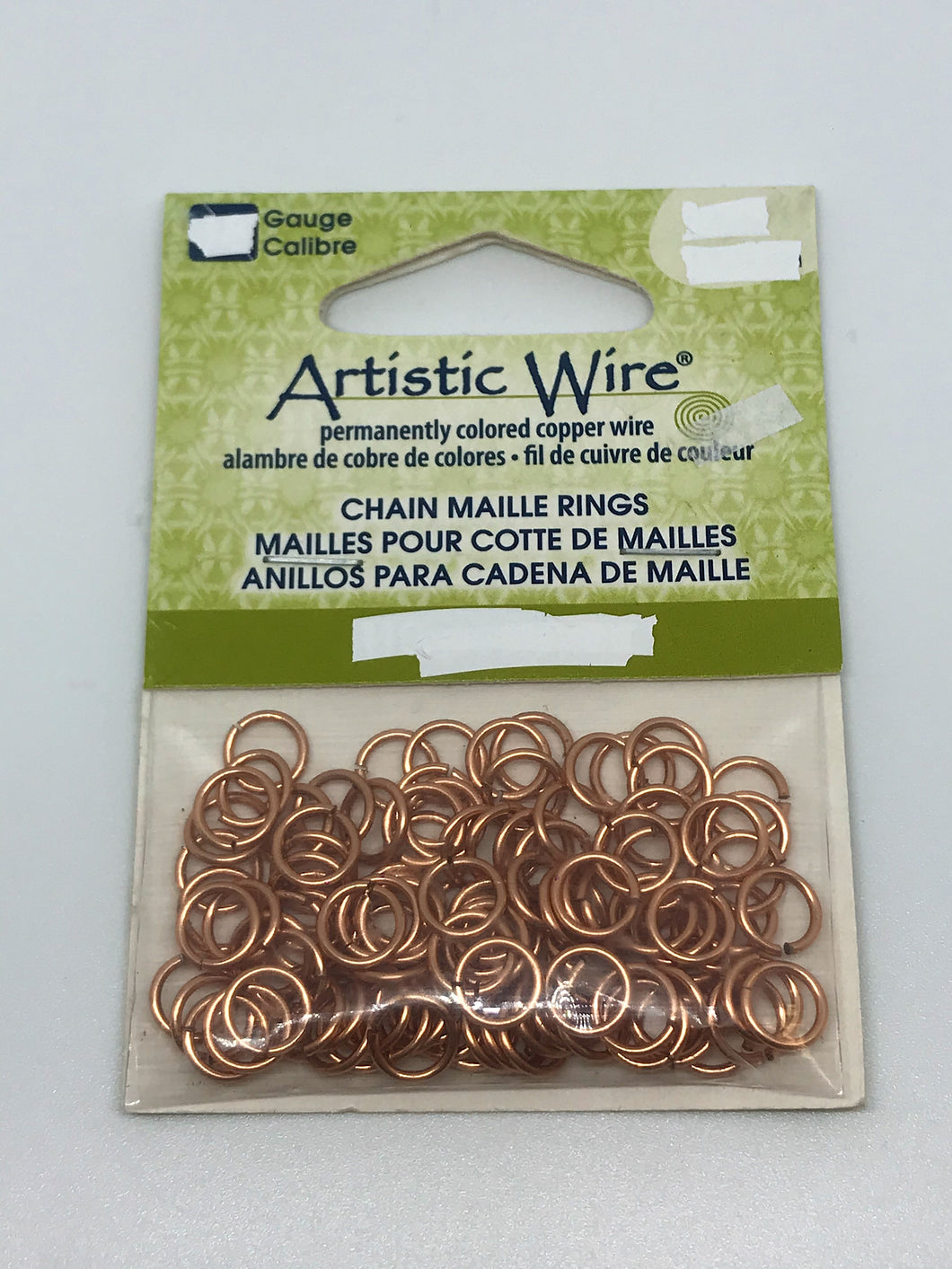 Jump Rings Artistic Wire Raw Copper 220pcs 20G 7/64