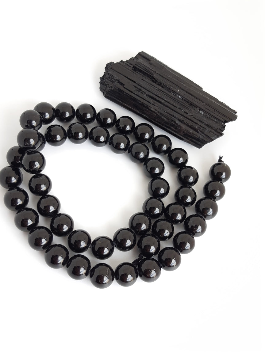 6mm Black Tourmaline Round 16