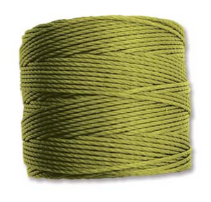 Fine Nylon Knotting Cord Peridot 118yards